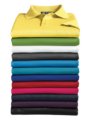 Port Authority Men's Short Sleeve Pique Polo