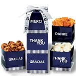 Picture of Thank You Cube Cookie Tower