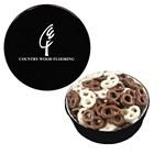Picture of The Grand Tin Mini Chocolate Pretzels
