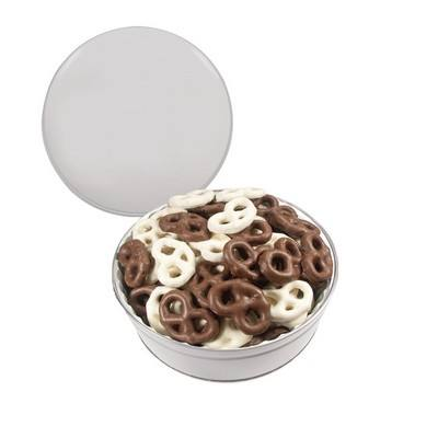 The Royal Tin Mini Chocolate Pretzels