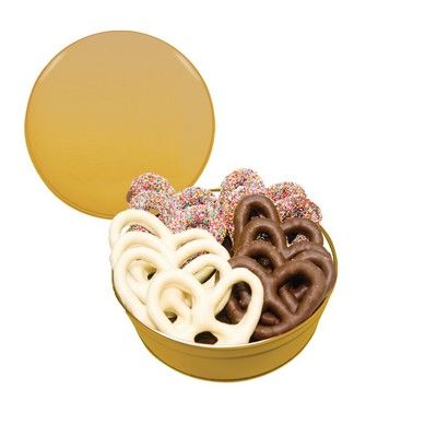 The Royal Tin Chocolate Covered Pretzels