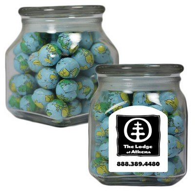 LargeSquare Apothecary Jar Signature Peppermints