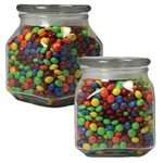 Picture of Largel Square Apothecary Jar Chocolate Littles
