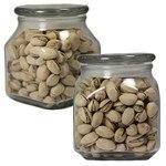 Picture of Medium Square Apothecary Jar Pistachios