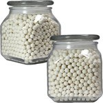 Picture of Large Square Apothecary Jar Starlite Mints