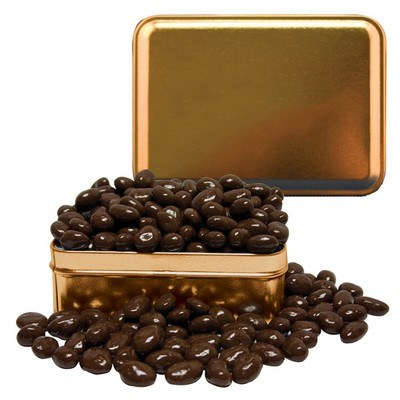 Small Rectangle Tin Chocolate Almonds