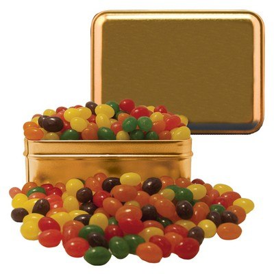 Small Rectangle Tin Jelly Beans