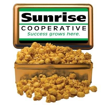 Large Rectangle Tin Caramel Popcorn