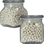 Picture of Small Square Apothecary Jar Starlite Mints