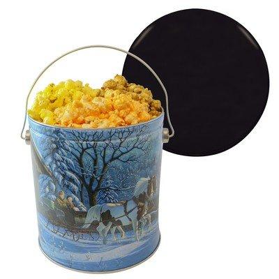 One Gallon Tin Popcorn