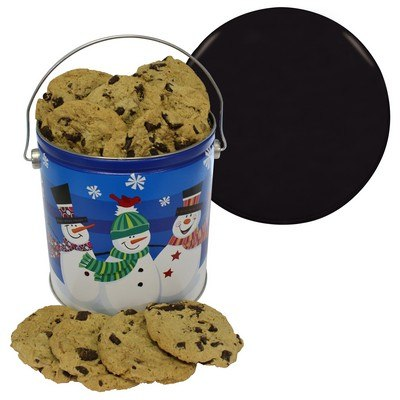 One Gallon Tin Chocolate Chip Cookies