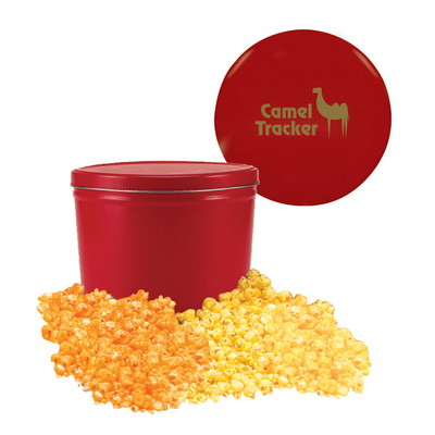 Two Gallon Popcorn Tin - Butter and Cheese