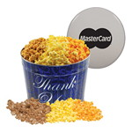 Picture of Two Gallon Popcorn Tin - Butter, Caramel and Cheese