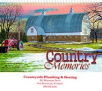 Picture of Country Memories Wall Calendar - Spiral