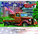 Picture of American Glory Wall Calendar - Spiral