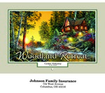 Picture of Woodland Wall Calendar - Stitched