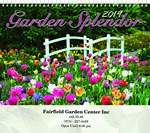 Picture of Garden Splendor Wall Calendar - Spiral