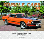 Picture of Muscle Cars Wall Calendar - Stitched