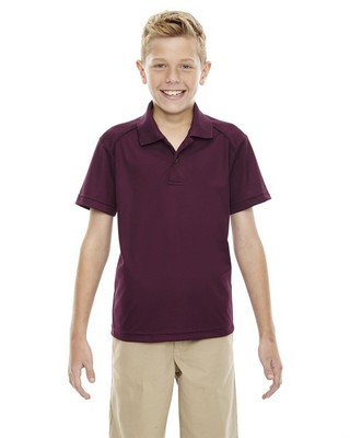 Extreme Performance Youth Shield Short Sleeve Polo