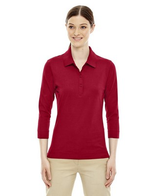 Extreme Ladies 3/4 Sleeve Stretch Jersey Polo