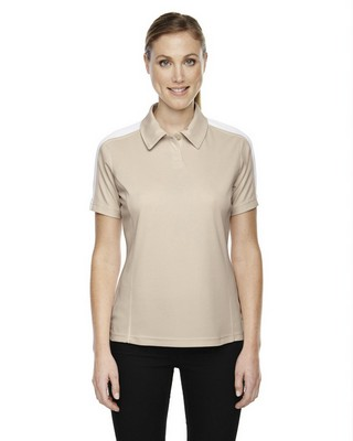 Extreme Performance Ladies Pique Colorblock Polo