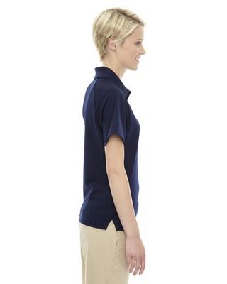 Extreme Ladies Short Sleeve Ottoman Textured Polo
