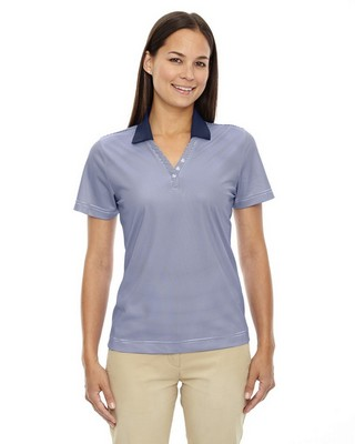 Extreme Eperformance Ladies Launch Striped Polo