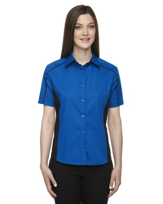 North End Ladies FuseTwill Shirt