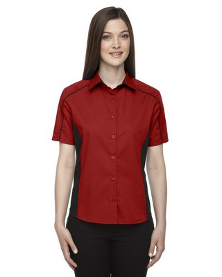 North End Ladies Fuse Twill Shirt