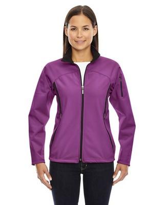 North End Ladies Fleece Bonded Performance Jacket