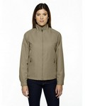 Picture of North End Ladies Mid-Length Micro Twill Jacket