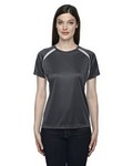 Picture of North End Ladies Short Sleeve Athletic Crew Neck Shirt