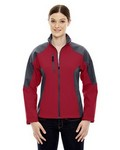 Picture of North End Ladies Compass Fleece Bonded Jacket