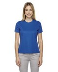 Picture of Core365 Ladies Pace Performance Pique Crew Neck Shirt