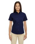 Picture of Core 365 Ladies Optimum Short Sleeve Twill Shirt