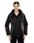 Picture of North End Ladies Height 3-In-1 Jacket