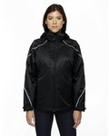 Picture of North End Ladies Angle 3-In-1 Jacket