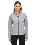 Picture of North End Ladies Trace Printed Fleece Jacket