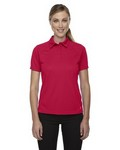 Picture of North End Sport Red Ladies' Short Sleeve DolomiteUtk Cool.Logik Performance Polo