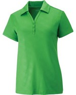 Picture of North End Sport Red Ladies Maze Polo