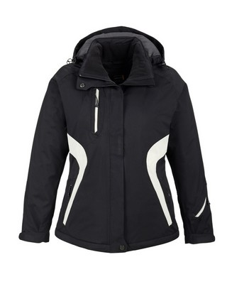 North End Sport Red Ladies Apex Seam-Sealed Jacket