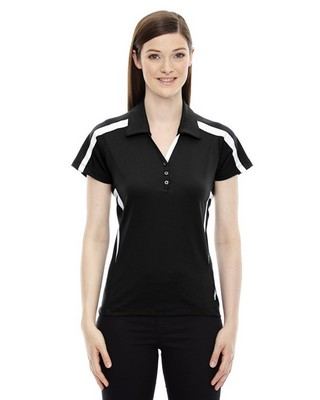 North End Red LadiesAccelerate Performance Polo