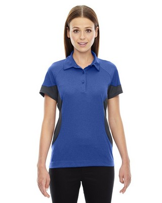 North End Red Ladies Refresh Coffee Jersey Polo