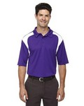Picture of Extreme Mens Colorblock Textured Polo