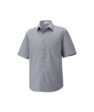 Maldon Men'S Tall Short Sleeve Oxford Shirt