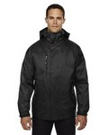 Picture of North End Mens 3-In-1 Seam-Sealed Hooded Jacket