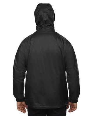 North End Mens 3-In-1 Seam-Sealed Hooded Jacket