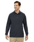 Picture of Core 365 Mens Tall Pinnacle Performance Long-Sleeve Polo