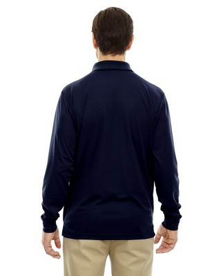 Core 365 Mens Tall Pinnacle Performance Long-Sleeve Polo