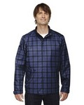 Picture of North End BlueMens Locale Plaid Jacket
